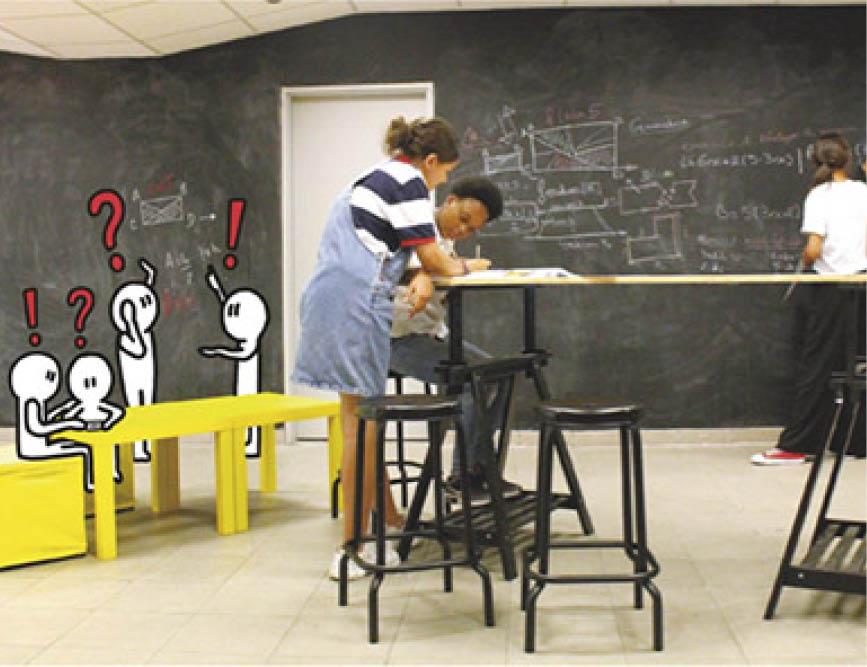 Publication : Remodeler sa salle de classe et sa pédagogie
