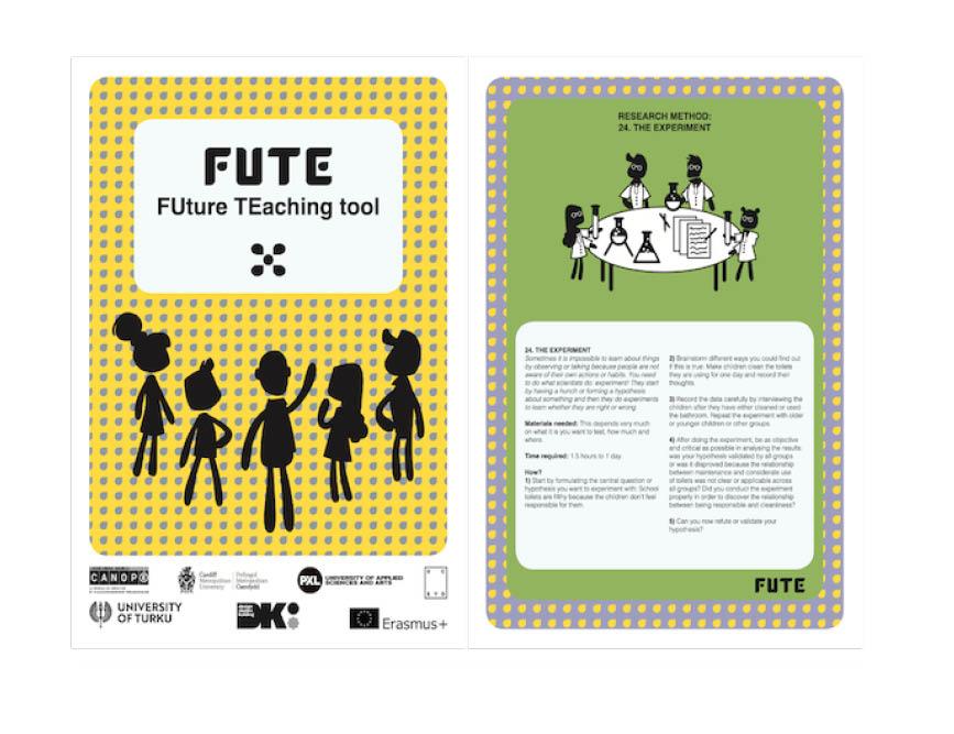 Outils collaboratifs pour la classe : projet européen FUTE, 2018-2020